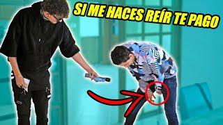 SI ME HACES REÍR TE PAGO $500 CON YOUTUBERS! (HotSpanish)