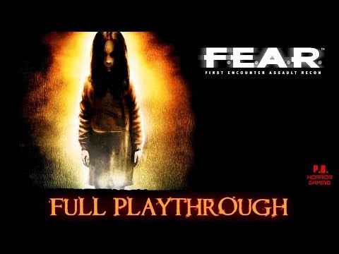 FEAR 1 | Full Playthrough | Longplay Gameplay Walkthrough 1080P HD No Commentary
