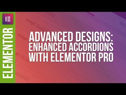 Advanced Accordion Design with Elementor Pro - 동영상