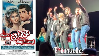 Grease Sing-A-Long, Olivia Newton-John and John Travolta LIVE Greased Lightning/We Go Together