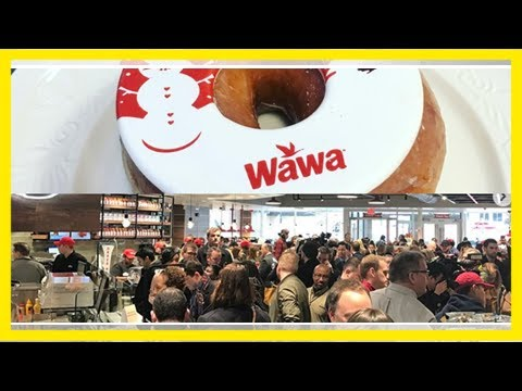 'we are wawa!': a convenience chain with a cult following opened a super-sized location in washingt