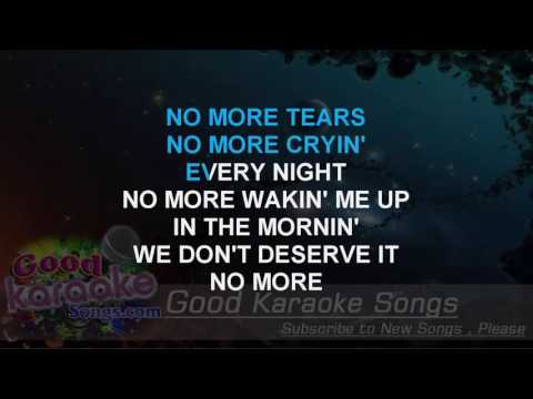 No More Drama   MARY J  BLIGE Lyrics Karaoke  goodkaraokesongscom
