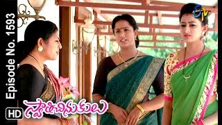 Swathi Chinukulu | 10th October 2018 | Full Episode No 1593 | ETV Telugu