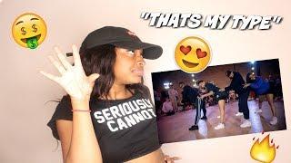 MY TYPE CHALLENGE WITH SAWEETIE! | Nicole Kirkland Choreography *Reaction*