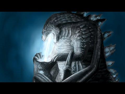 Godzilla Time Lapse drawing