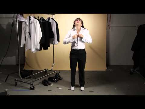 Women Try Tuxes For The First Time