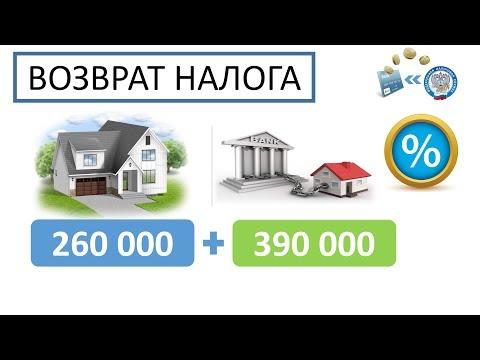 Налоговый вычет при покупке квартиры + % по ипотеке
