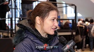 KATIE TAYLOR WANTS FIGHTS W/AMANDA SERRANO, CECILLIA BRAEKHUS TO MAKE HISTORY & FORGE LEGACY