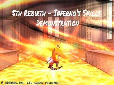5th Rebirth - Inferno's Skills Demonstration