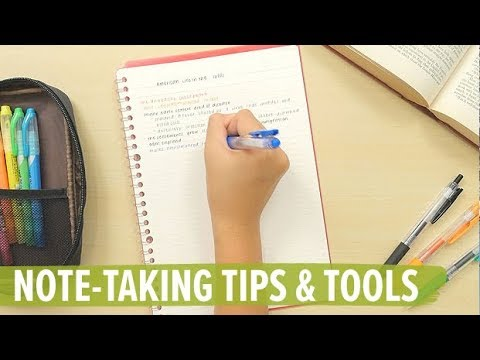 Note-taking Tips & Tools