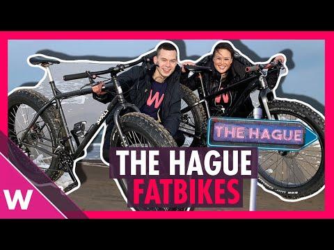 🇳🇱  The Hague: Riding Fatbikes on Scheveningen beach | Eurovision 2020 travel