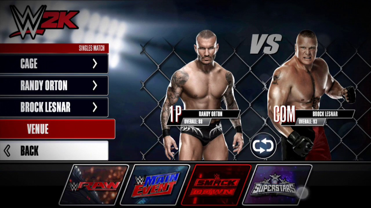 How To Download Wwe 2k15 For Android Free With Gameplay Youtube