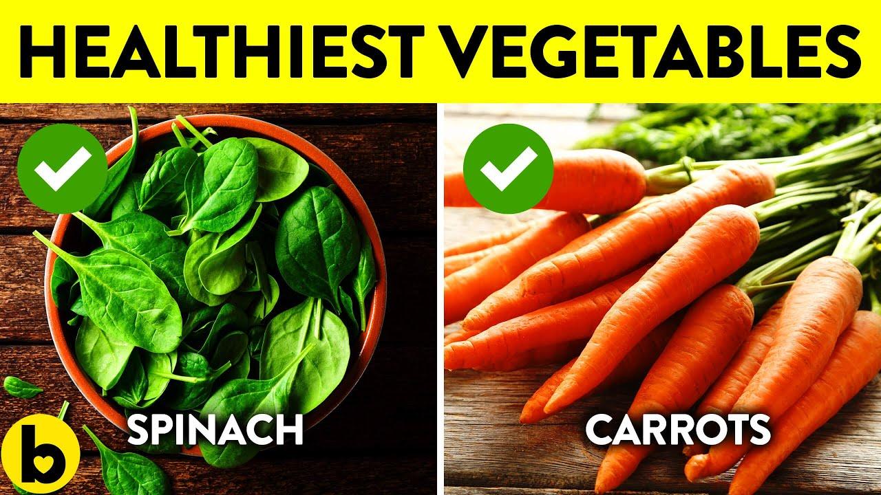 11 Healthiest Vegetables On Earth