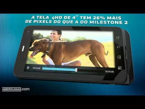 Motorola Milestone™ 3 | Americanas.com