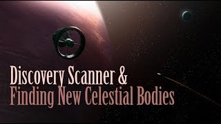 Elite Dangerous - Using the discovery scanner & finding new suns and planets