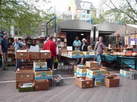Waterlooplein - Johnny en Rijk / Markten van Amsterdam