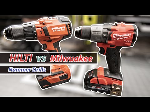Milwaukee vs HILTI (WOOD)
