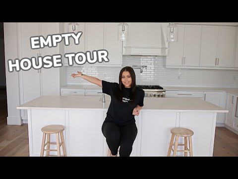EMPTY HOUSE TOUR - MY NEW HOME!