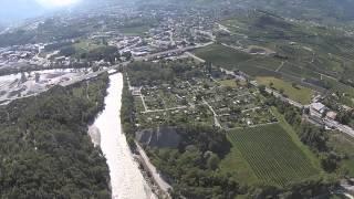 Drone Dji Phantom 2 Finges 2015 Sierre Valais