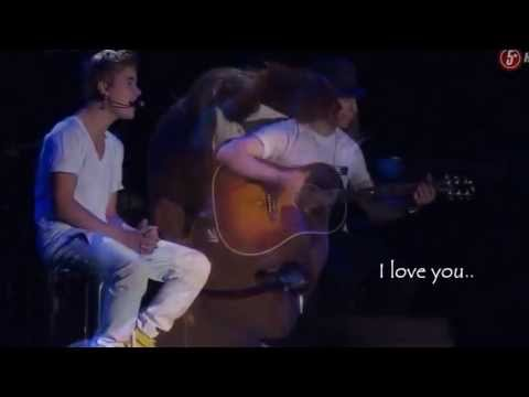 Justin Bieber - Be alright [Live Performance With Lyrics HD]