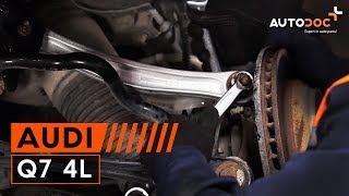 How to replace rear control arm Audi Q7 4L TUTORIAL | AUTODOC