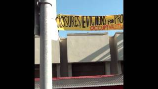 Occupy Wall Street West forecloses on Wells Fargo branch
