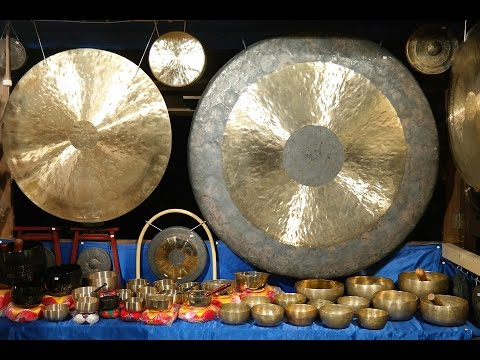Tibetan Meditation & Healing Sounds - Tibetan Gong for Meditation, Relaxation, Calming & Healing