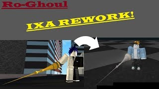 Roblox - RoGhoul - IXA Quinque Rework Showcase