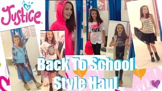 Justice Back To School Style Haul 2015 | Simply Liv
