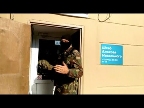 Police raids across Russia target opposition activists