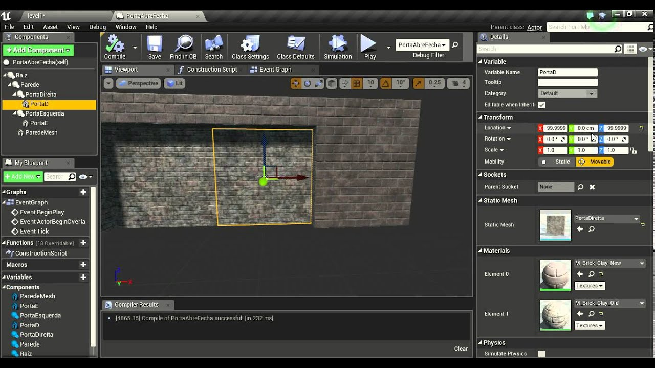 Tutorial Simples Blueprint com Unreal Engine 4 - YouTube