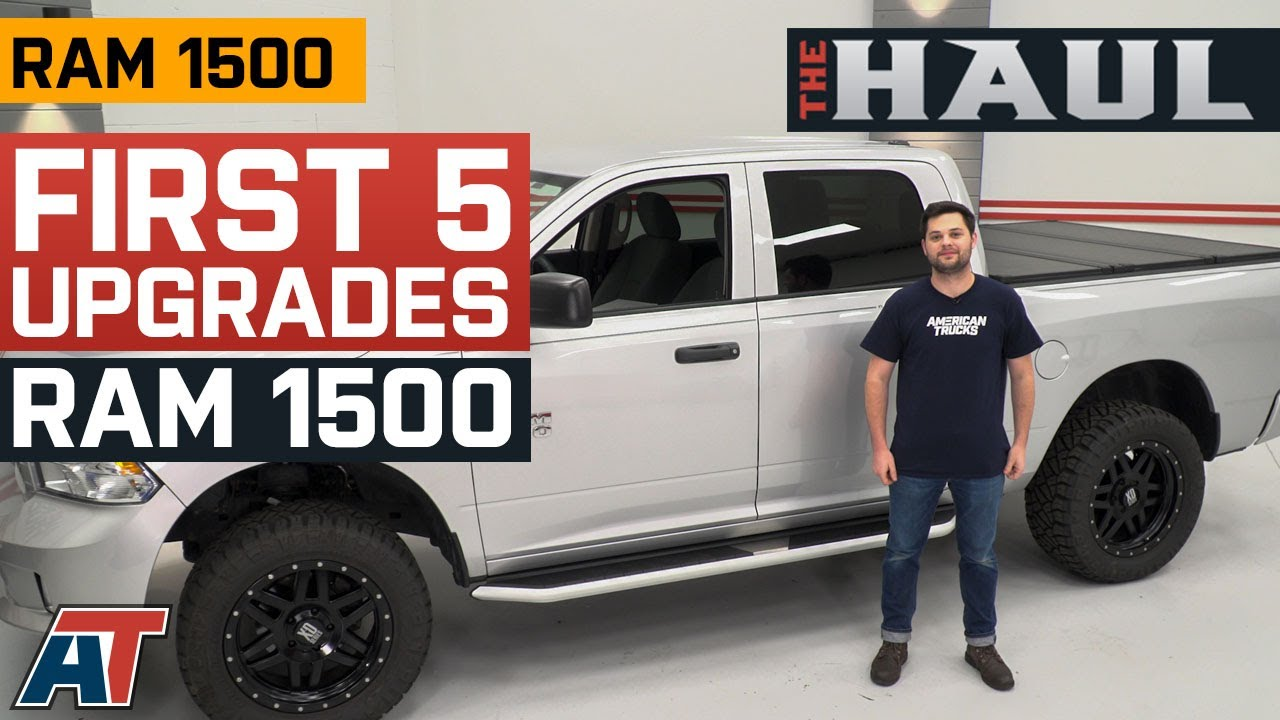 Top 5 Truck Parts For Your 2009 2018 Ram 1500 Top Truck Accessories The Haul Youtube