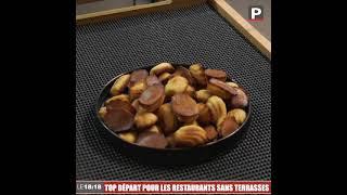 Le 18:18 - Les restaurants sans terrasse retrouvent eux aussi le contact avec les clients