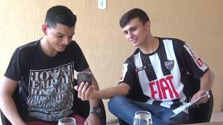 Vitor Ostinha no tabelinha com o Bessa