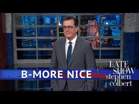 Watch Colbert Turn Trump's Latest Racist Rant Into 'God Bless America' Parody