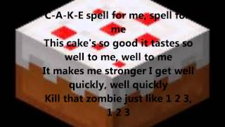 ill make some cake lyrics.wmv