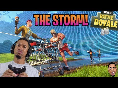 THE STORM NEVER STOPS! Steady Storm Fortnite Battle Royale