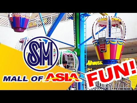 12 ATTRACTIONS 🚀 That Kids Will Love in SM MOA 😀💥 MALL OF ASIA