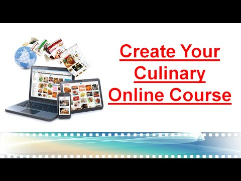 Create Your Culinary Online Course