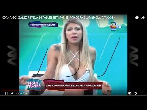 """Xoana González: """"Me operé 'ahí abajo'"""""""