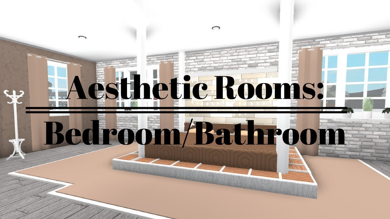 Aesthetic Rooms - Bedroom/Bathroom 30k - YouTube