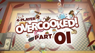 Overcooked - Part #01 (4-player)