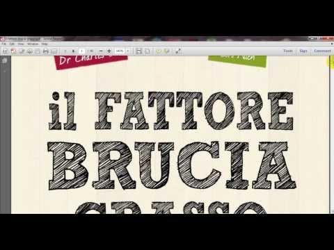 Fattore Brucia Grasso Gratis Pdf