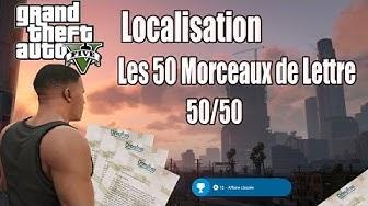 [Localisation] GTA 5 - Tous les Morceaux de Lettres [50/50] [FR]