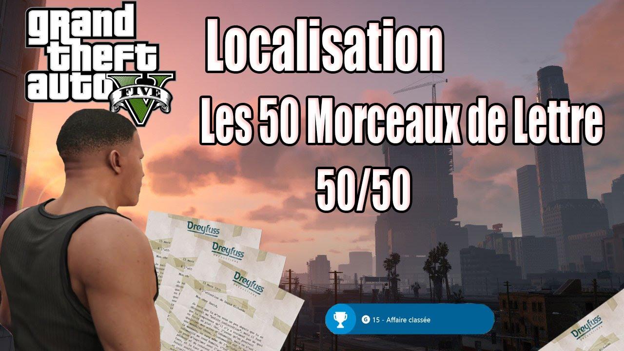 gta 5 morceau de lettre Localisation] GTA 5   Tous les Morceaux de Lettres [50/50] [FR  gta 5 morceau de lettre