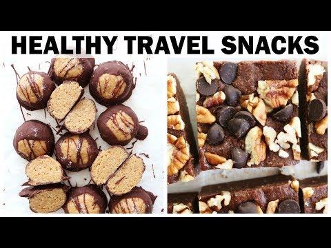 HEALTHY TRAVEL SNACKS || gluten free + vegan