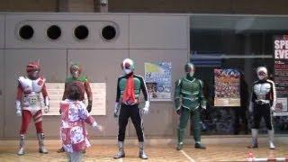 Legend Kamen Rider 歴代仮面ライダーショー https://www.youtube.com/p...
