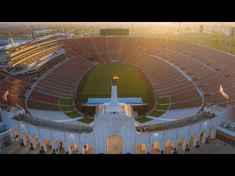 Venue to host 2028 summer Olympics #LACA2028 #Olympics 