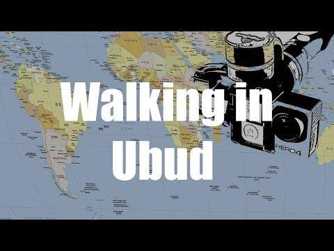 Walking in Ubud  ,Bali, Indonesia