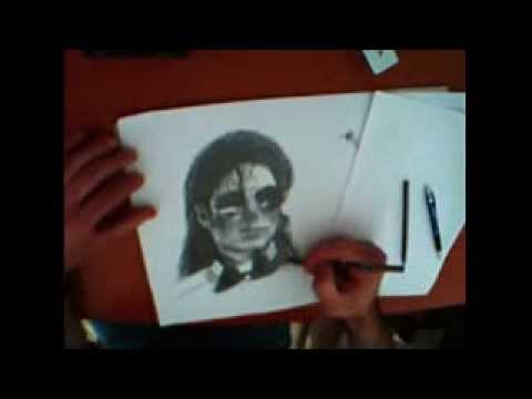mıchel jakson kara kalem çalışması (smooth criminal)